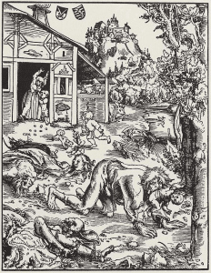 Werwolf - Lucas Cranach the Elder - Gotha